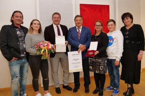 Verleihung des Villacher Stadtwappens !